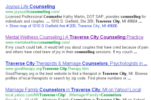 Counseling Private Practice