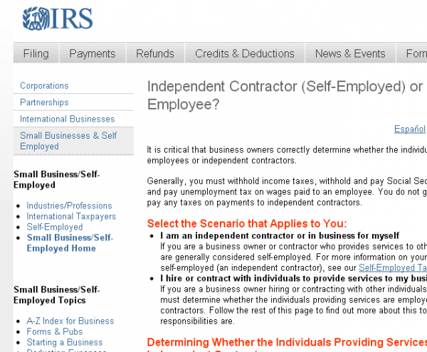 1099 contractor counseling private practice advice
