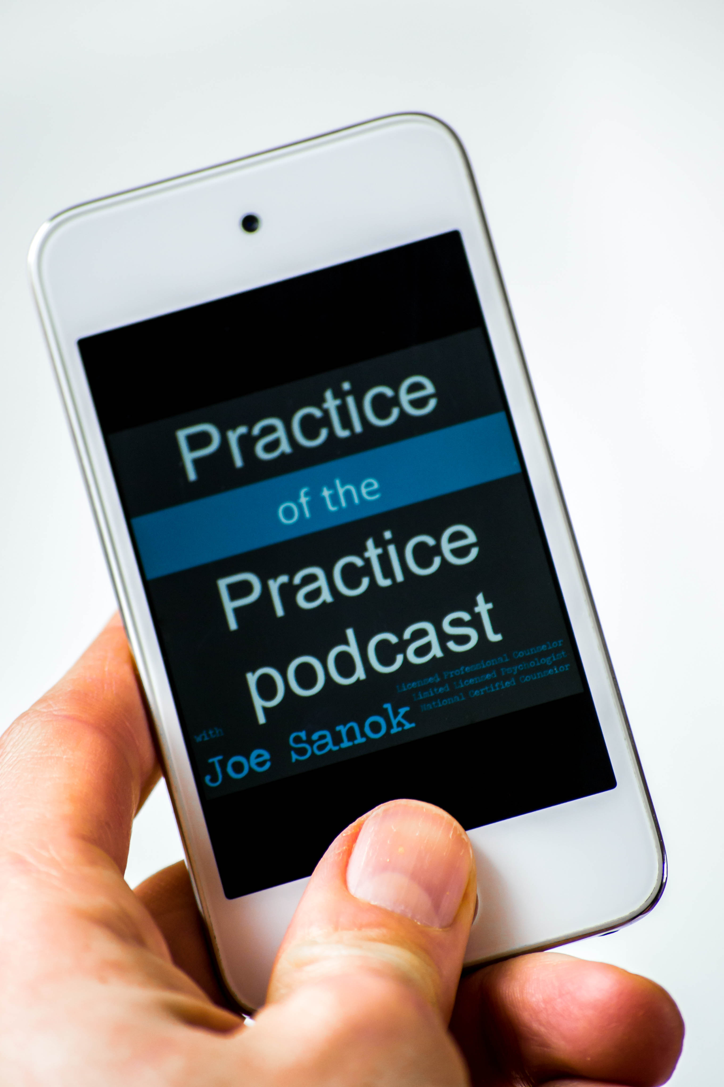 counseling podcast about private practice podcast on ipod