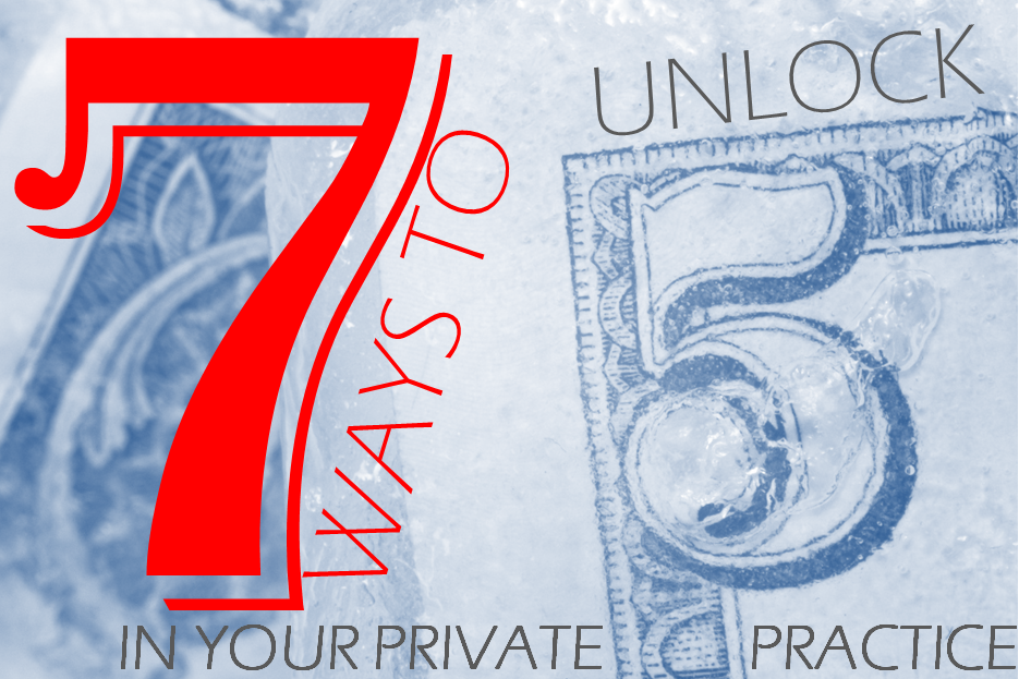 unlocking money private practice