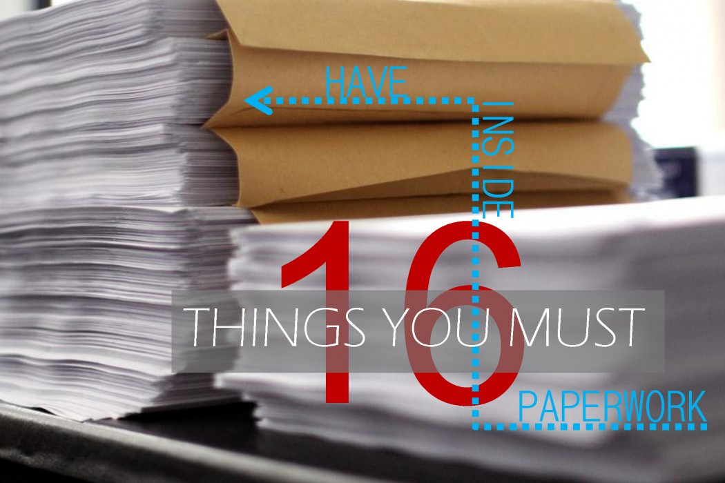 counseling PAPERWORK tips