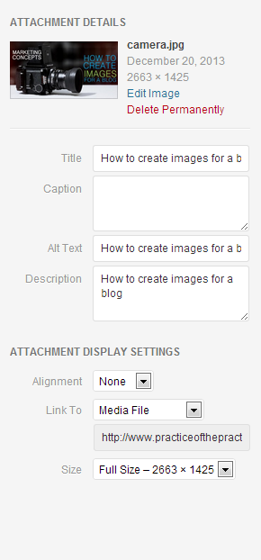 step-by-step how to make an image for a blog post