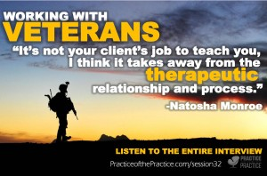 counseling with vets