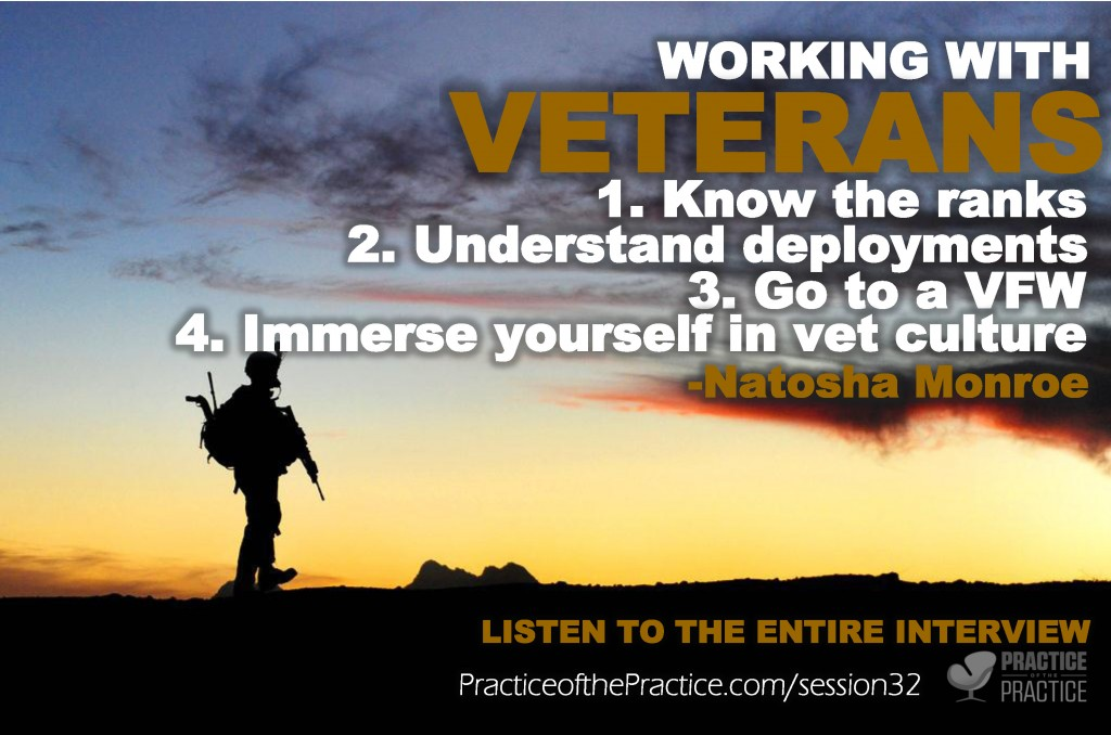 Working with vets