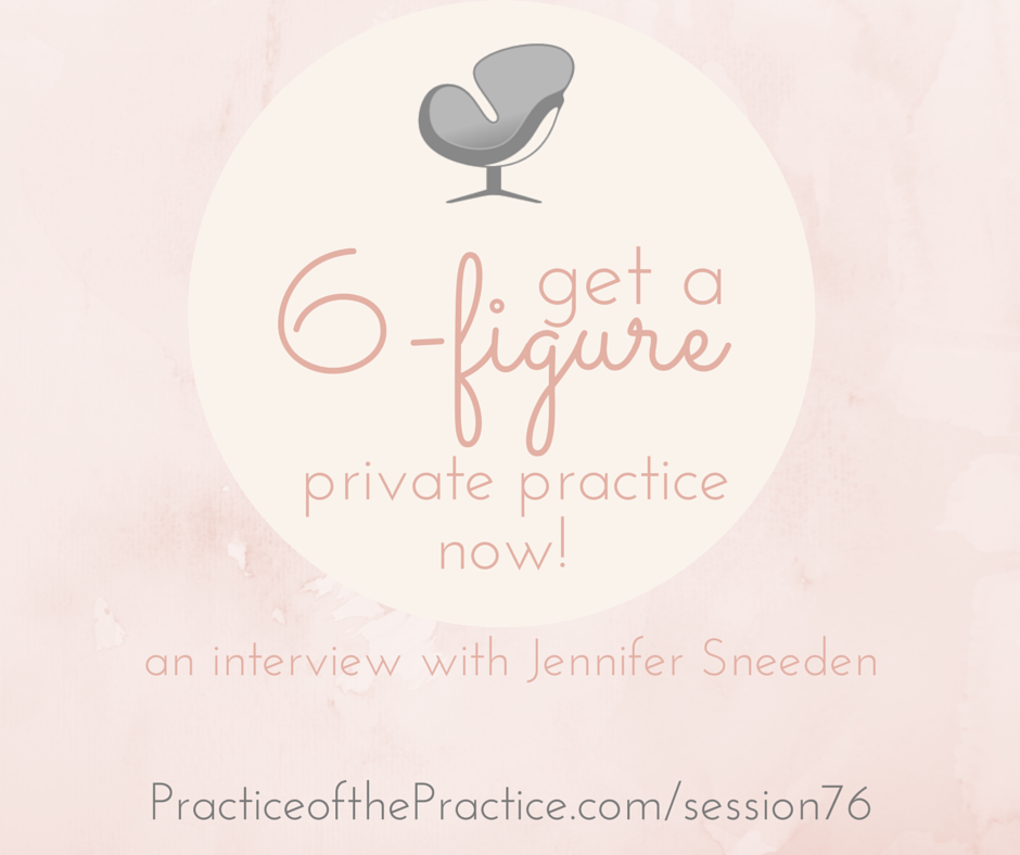 6-figure private practice