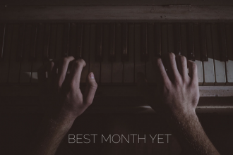 best month yet