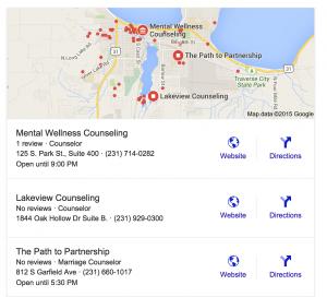 Google My Business Keyword