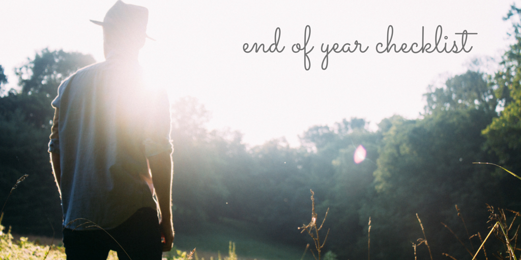 end of year checklist counseling private practice consultant