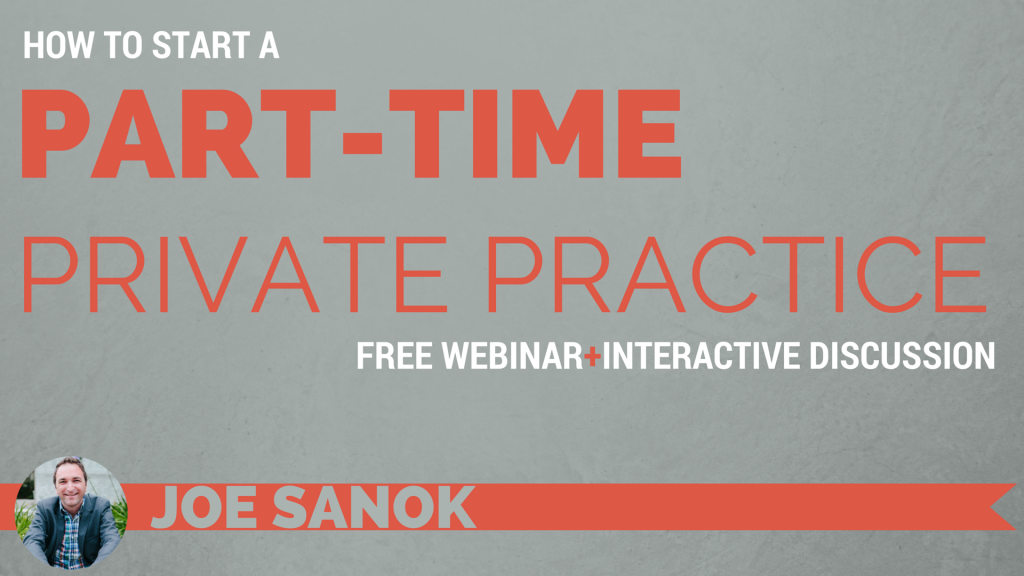 How to start a private practice WEBINAR PROMO