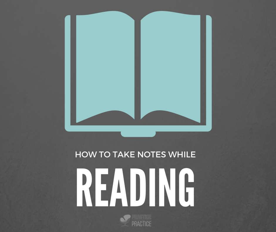 book notes how to take notes while reading how to start grow