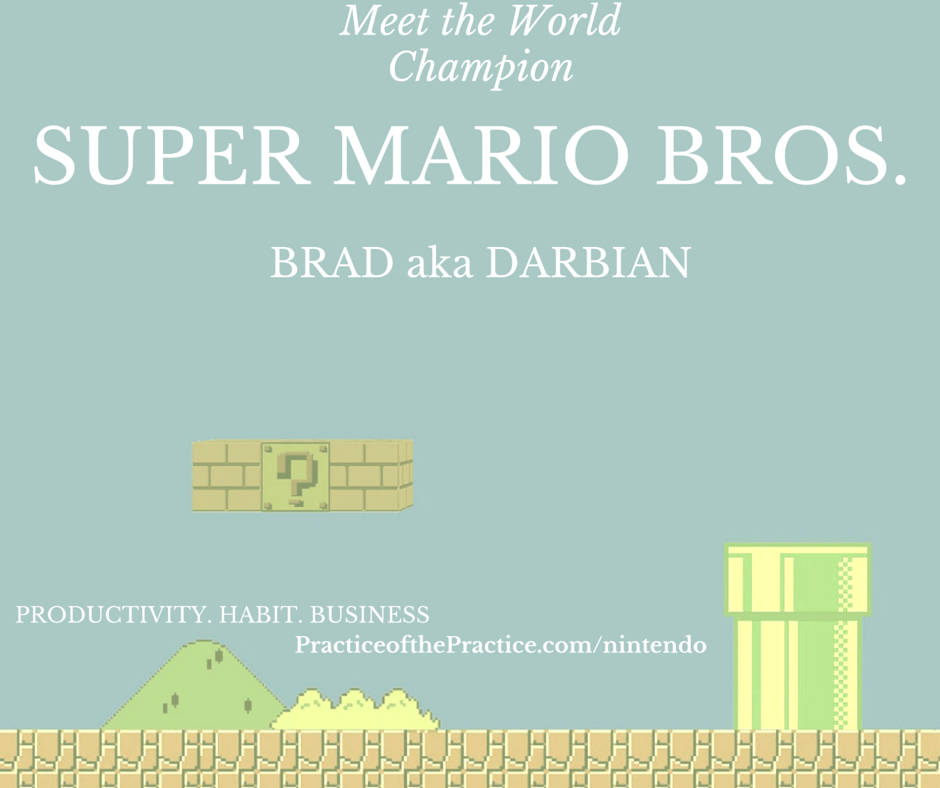 Meet the World Champion of Super Mario Bros. Darbian