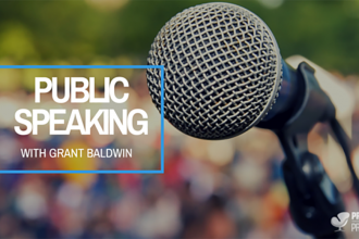 Public Speaking With Grant Baldwin