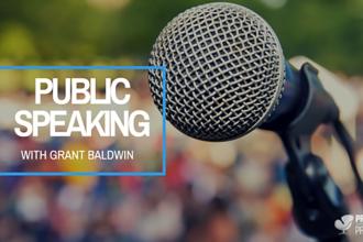 Public Speaking With Grant Baldwin