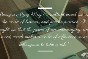 What I Learned About Private Practice Development from being a Mary Kay Consultant