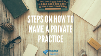 How to name your Private Practice