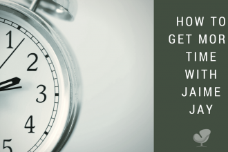 How to get more time