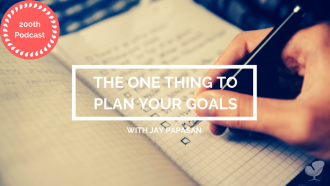 The one thing to plan your goals