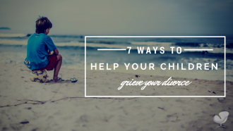 Help your children grieve your divorce