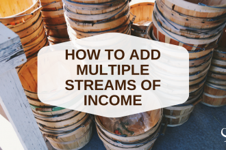 How to add multiple streams of income