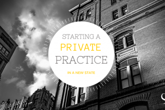 Starting a private practice in a new state