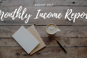 Private Practice Income | August 2017 Monthly Income Report