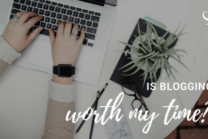Is blogging worth my time?