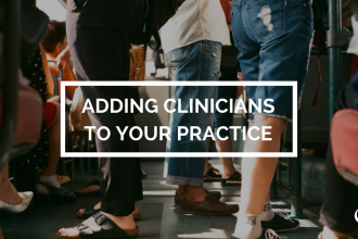 Adding clinicians to your practice
