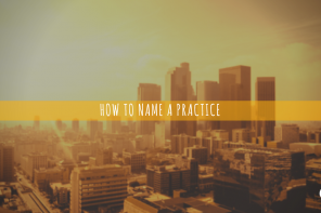 How to Name a Practice