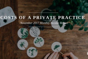 November 2017 Monthly Income Report