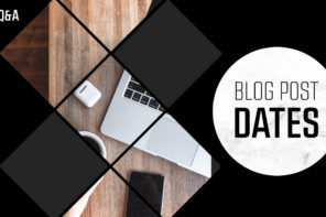 Should you date your blog posts?