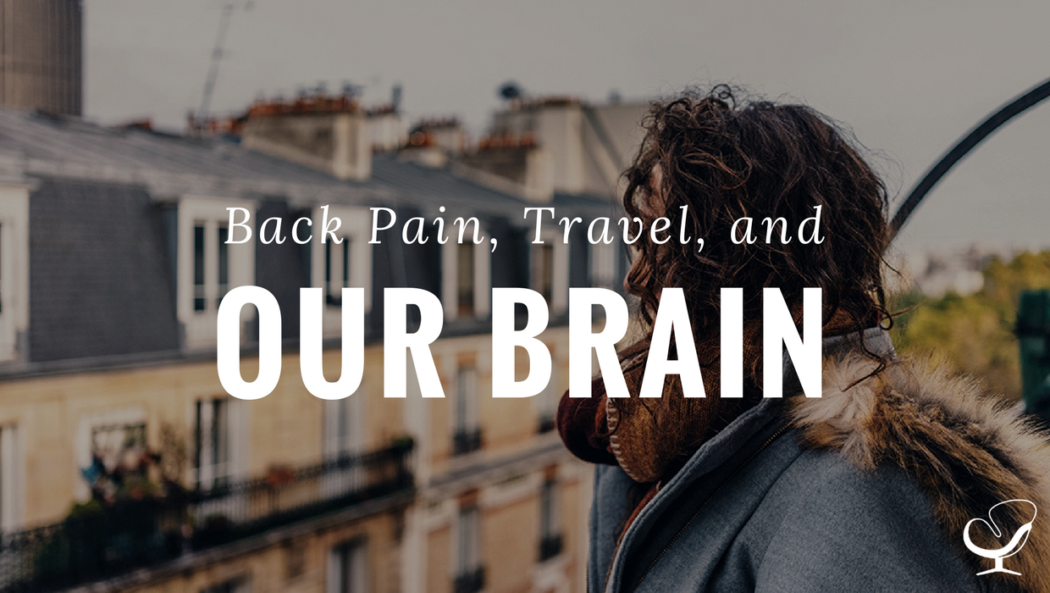 Back Pain, Travel, and Our Brain