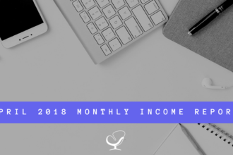 April 2018 Monthly Income Report