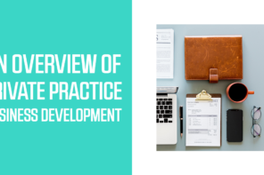 An Overview of Private Practice Business Development