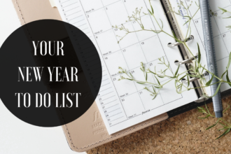Your New Year To Do List