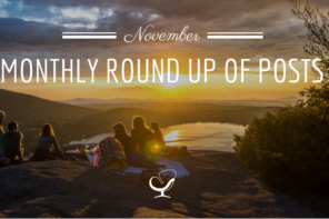 Monthly Round Up Of Posts: November 2018