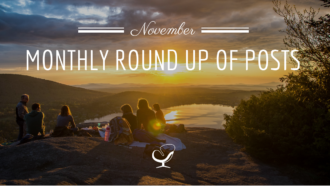 Monthly Round Up Of Posts November 2018