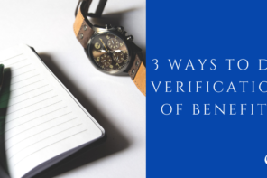 3 Ways to Do Verification of Benefits