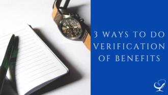 3 Ways to Do Verification of Benefits
