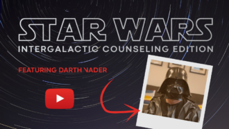 Star Wars Intergalactical Counseling Edition Featuring Darth Vader