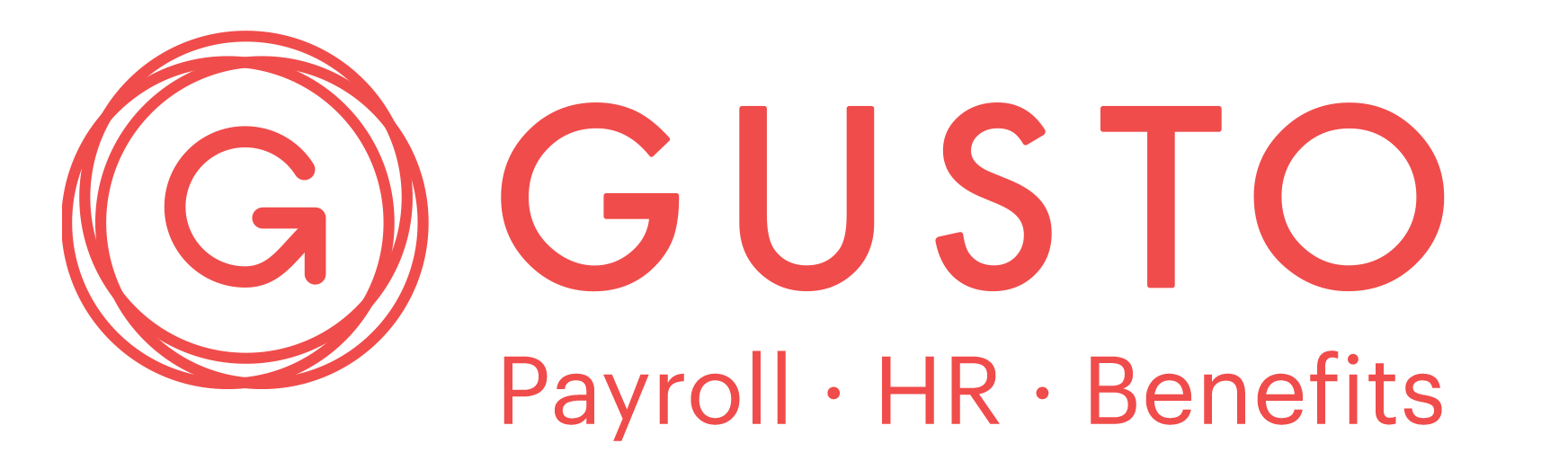 Photo of Gusto's logo. Gusto is a great payroll resource for psychologists in private practice who are looking for better HR and payroll solutions.