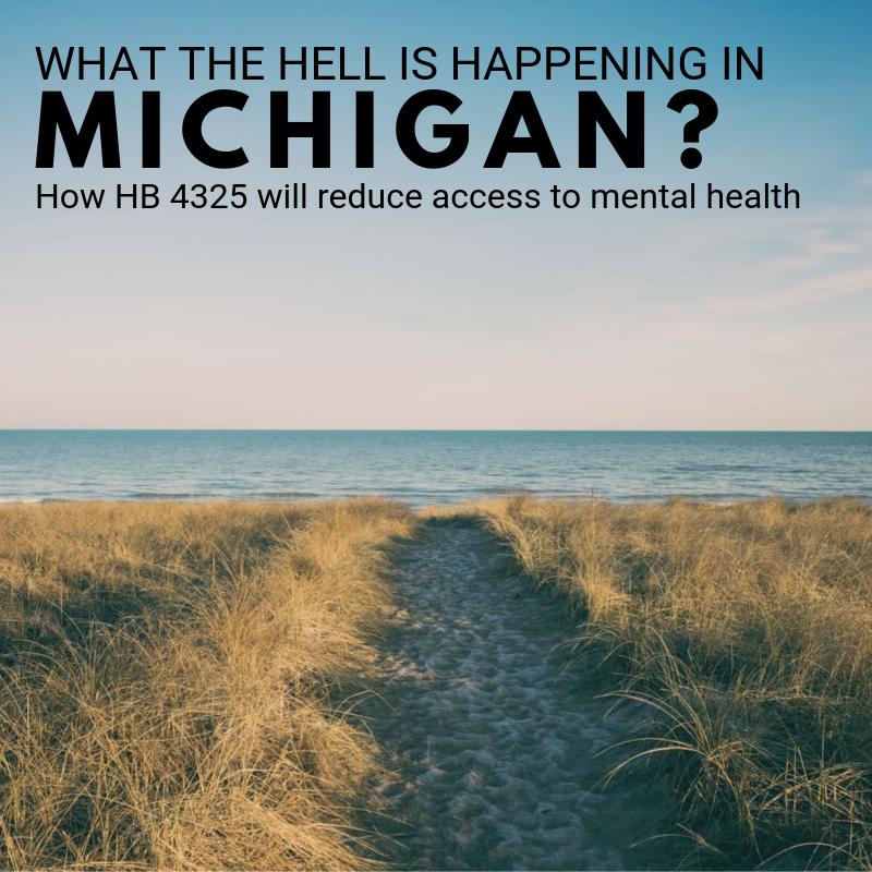HB 4325 Michigan counselors
