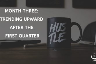 Month Three Trending Upward After the First Quarter