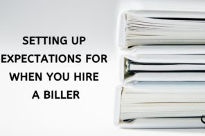 Setting up expectations for when you hire a biller