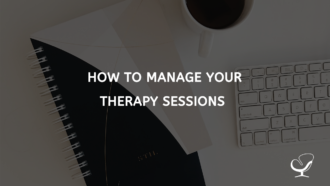 Manage Your Therapy Sessions