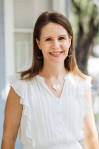 Photo of Christian therapist Whitney Owens. Whitney helps other christian counselors grow faith based private practices!
