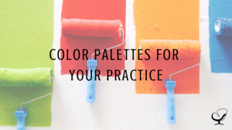 Color Palettes for Your Practice