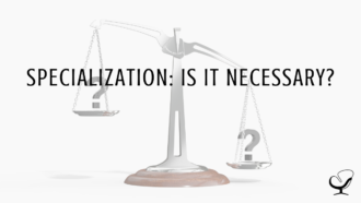 Specialization: Is it Necessary?