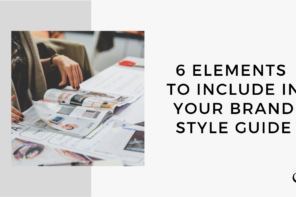 6 Elements to Include in Your Brand Style Guide | MP 41
