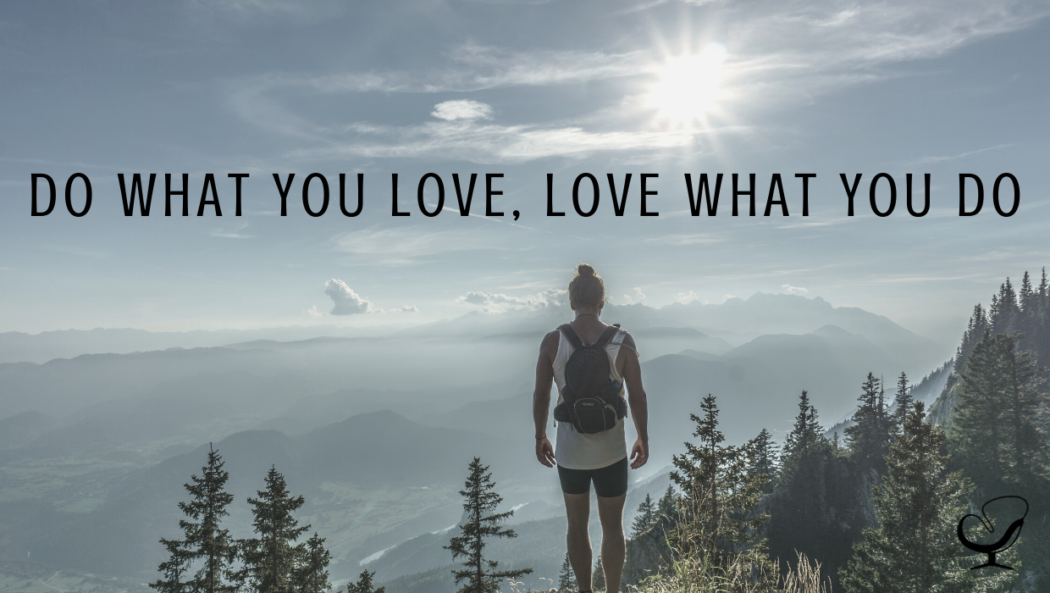 Image representing staying motivated during a pandemic | hiker summiting mountain | finding what you love