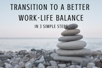 Image representing transitioning to a better work-life balance | Showing balance | Practice of the Practice